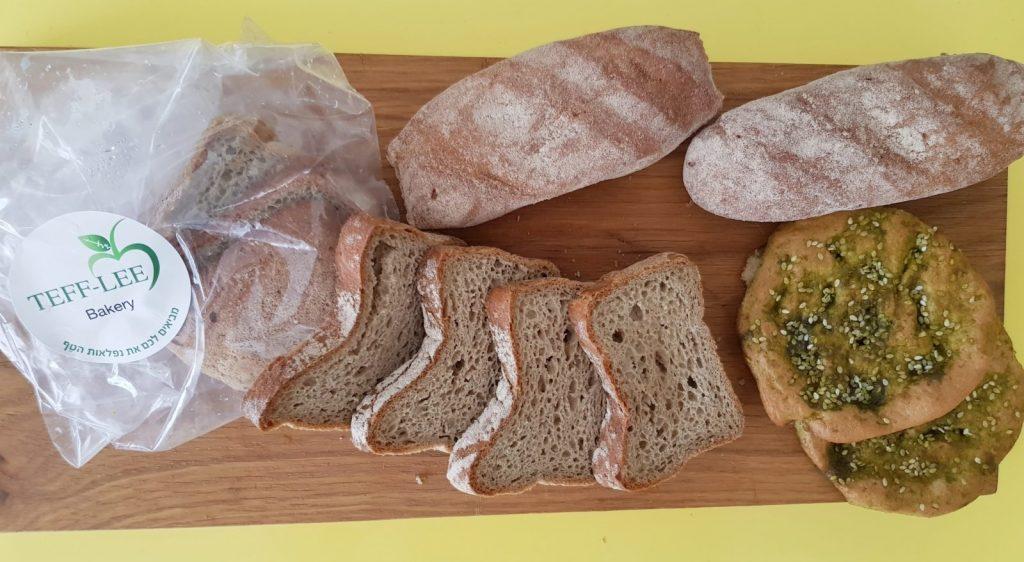 לחם טף. פינוקיטשן. צילום: דביר בר