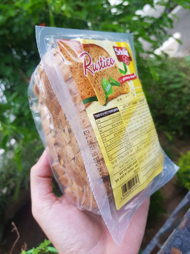 מארז לחם שר אטום ללא גלוטן. דביר בר