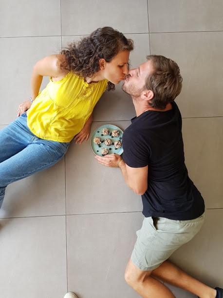 אהבה חיפאית. ארז ונטאלי גולקו. צילום: דביר בר