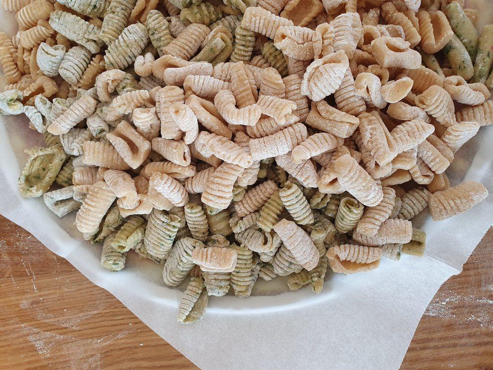 פסטה איטלקית ללא גלוטן. צילום: דביר בר