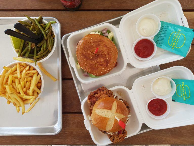 המבורגר בסוסו אנד סאנס. צילום: דביר בר