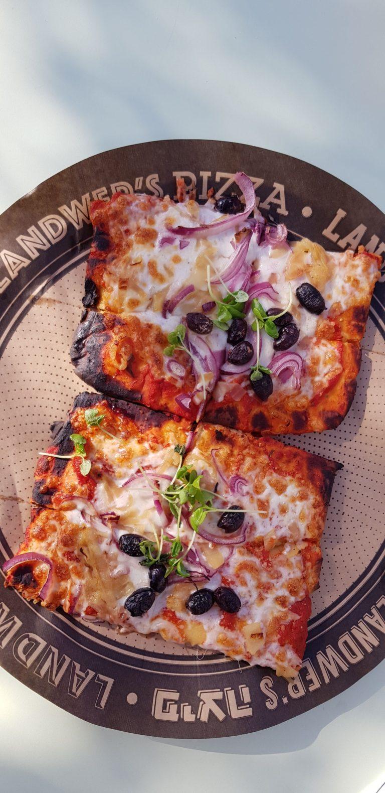 פיצה ללא גלוטן. לנדוור. צילום: דביר בר