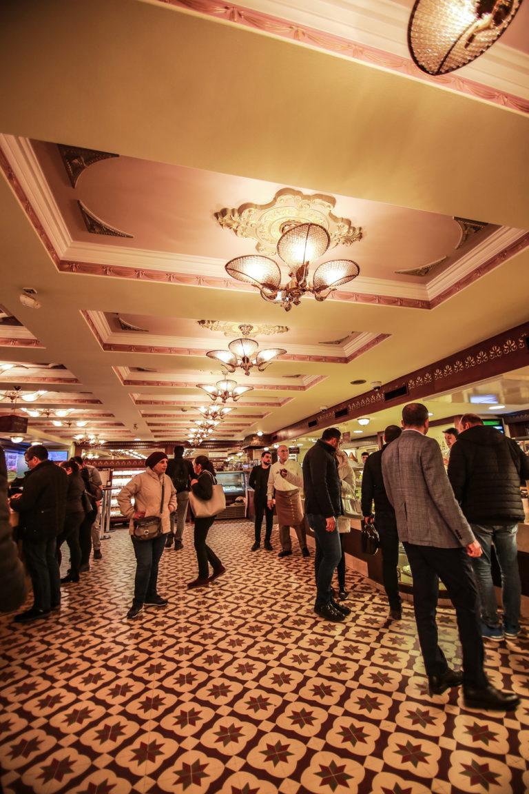מסעדת karakoy gulluoglu. צילום: יח״צ