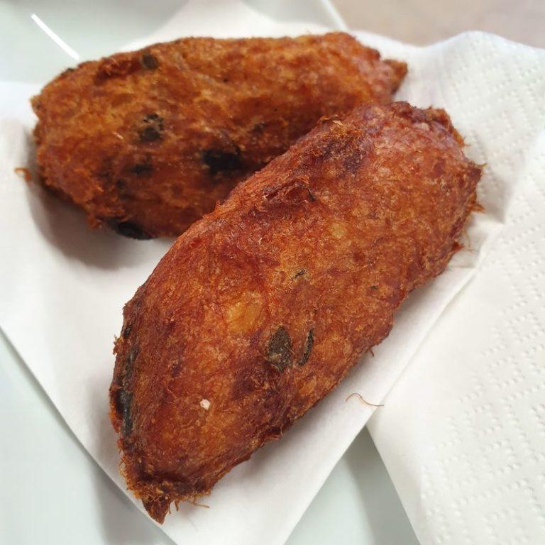 קרוקט דג ופירה. שוק טיים אאוט ליסבון. צילום: דביר בר