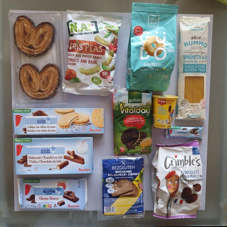 מוצרים ללא גלוטן מליסבון. צילום: דביר בר