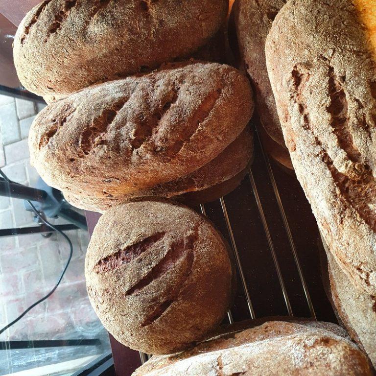 לחם ללא גלוטן בגלוטריה. צילום: דביר בר