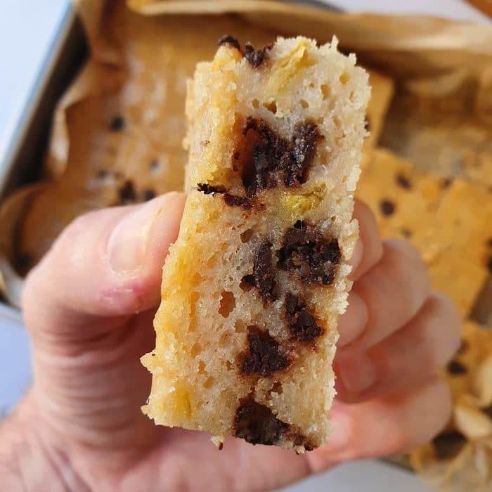 מומלץ לשבץ בשוקולד צ׳יפס. צילום: דביר בר